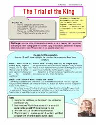 the trial of king louis facts worksheet free pdf year 8 9