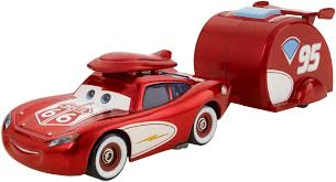 Lighting Mcqueen Halloween Costume by Disney Pixar Cars Road Trip Cruisin U0027 Lightning Mcqueen U0026 Trailer