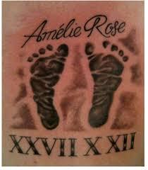 footprint tattoos page 2