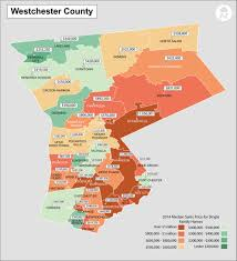 map of westchester county ny 2014 hudson valley new york real estate median sales price