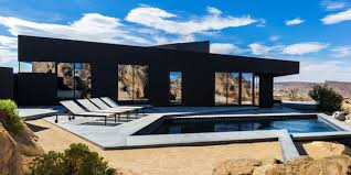 cuisine high tech architecture black desert house e tv