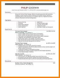 5 program manager resume examples format of notice