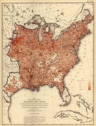 Southeast Map Of The United States by Radicalcartography