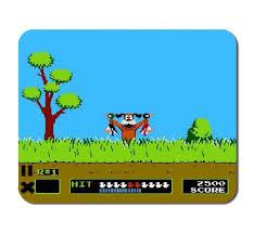 Duck Hunting Home Decor Duck Hunt Mouse Pad 8 Bit Nes Nintendo Kids Decor Office Decor