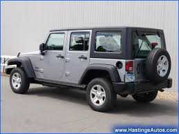 4 door jeep rubicon for sale used gasoline jeep wrangler unlimited sport rhd in minnesota for sale