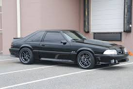 Black Fox Body Mustang 93 Mustang W 03 Cobra Engine Mustangs Pinterest Chevy Self