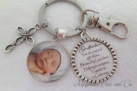 godmother keychain godfather godmother personalized gift for godparents