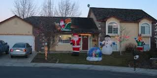 Blow Up Christmas Decorations Motor by The Stupid Shall Be Punished Taking Kitsch To A New Level