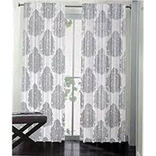 Grey Metallic Curtains Miller Pair Of Window Panels Curtains Drapery