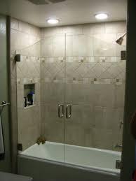 Satin Glass Shower Door by Glass Door For Bathtub 65 Bathroom Photo With Frameless Glass Door