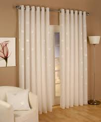 miami lined voile ring top priced per pair net curtain 2 curtains