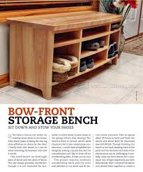 Wood Bench With Storage Plans by Storage Bench Plans U2022 Woodarchivist