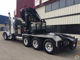 kenworth c500 for sale canada t800 tri drive with hiab 855 8 hi pro crane crane for sale in