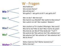 w fragen deutsch lernen 1 2 3 a b c pinterest deutsch