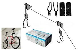 Racor Pbh 1r Ceiling Mounted Bike Lift by 80 Off On Apontus Ceiling Mounted Hoist Groupon Goods