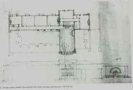 frank lloyd wright studio u0026 residence fiesole italy 1910