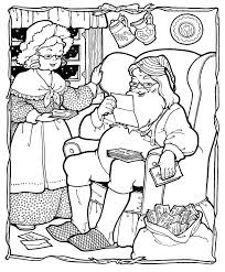 mrs claus coloring pages getcoloringpages com