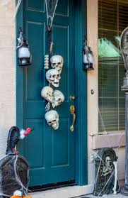 front doors inspirations front door hallowesen decor 142