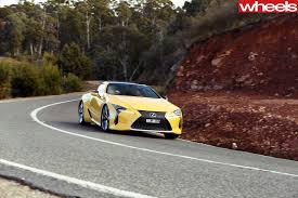 lexus yellow 2017 lexus lc500 review wheels