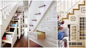surprising under stair storage ideas with shelves and space