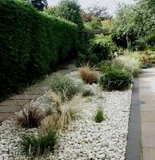 White Rocks For Garden by White Pebbles Garden Gardening Pinterest Gardens House And Pots