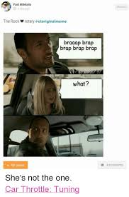 The Rock Meme Car - pasi mikkola aday ago the rock rotary ctoriginalmeme braaap brap