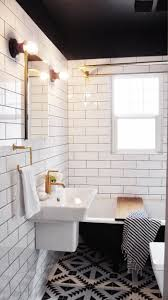 Black And White Bathroom Decor Ideas 32 Best Bathrooms Images On Pinterest Room Bathroom Ideas And