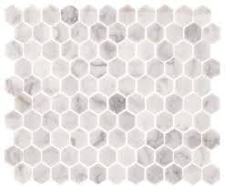 Hexagon Backsplash Tile by 12