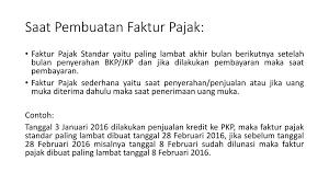 cara membuat faktur pajak untuk uang muka ppn dan ppnbm aris munandar se m si ppt download