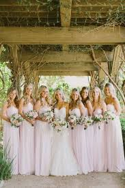soft pink bridesmaid dresses die besten 25 light pink bridesmaid dresses ideen auf