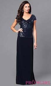 eye catching navy navy blue long sequin bodice prom dress budget