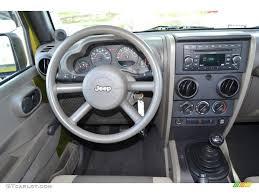 jeep wrangler custom dashboard 2007 jeep wrangler unlimited x dark khaki medium khaki dashboard