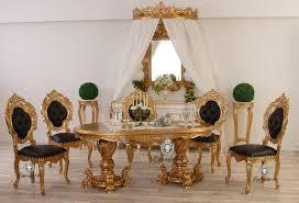 Esszimmertisch Oval Schwarz Esstisch Aus Massivholz In Bester Qualität Lionsstar Gmbh