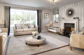 terrific beige living room grey sofa ideas grey white stripes wall