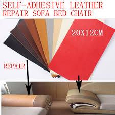 reparation canapé cuir 2 pcs lot de réparation en cuir autocollant patch auto adhésif pour