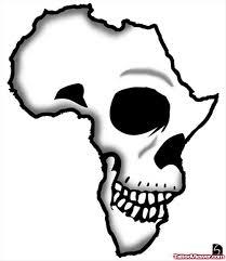 Skull Viewer Skull And African Map Tattoo Design Tattoo Viewer Com