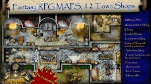 Fantasy Maps Fantasy Maps The Shops 12 Shops For Your Town By Gaudreau Steve