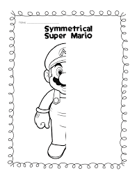 Fun Worksheets For Kindergarten Symmetry Worksheets For Study Hall Students Without Homework