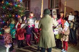 christmas tree lighting 2018 holiday tree lighting 2018 new glarus chamber tourist information