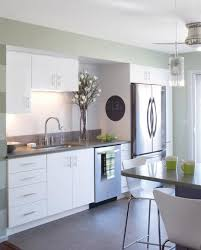 one wall kitchen designs with an island finest fancy one wall