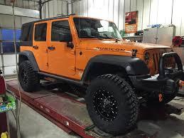 jeep yj winch 2013 jeep wrangler jk 4dr fuel krank wheels goodyear wrangler mt