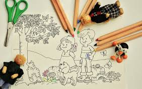 children drawing free pictures on pixabay