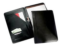 Resume Padfolio Black Leather Legal Pad Holder Leather Padfolios Personalized
