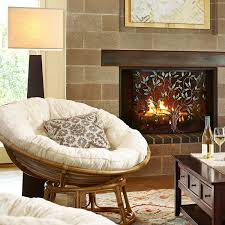 Leather Papasan Cushion by Papasan Chair Frame Natural Pier 1 Imports House Pinterest