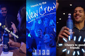 bud light gold can rules inside bud light s social strategy for super bowl li caign us