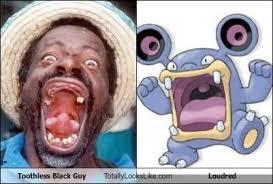 Toothless Meme - toothless black guy totally looks like loudred memebase funny