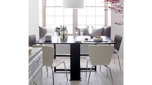 Black White Dining Chairs Felix White Dining Chair In Dining Chairs Reviews Crate And Barrel