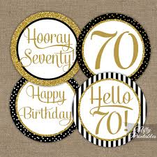 70th birthday party ideas 70th birthday cupcake toppers 70th birthday party
