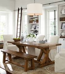 farmhouse table with bench and chairs 25 farmhouse dining room design to get inspired room dining and house
