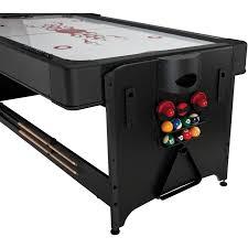 atomic 2 in 1 flip table 7 feet fat cat pockey 7 3 in 1 game table walmart com